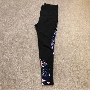 Pop Fit Workout Leggings Tights Pants Floral Print